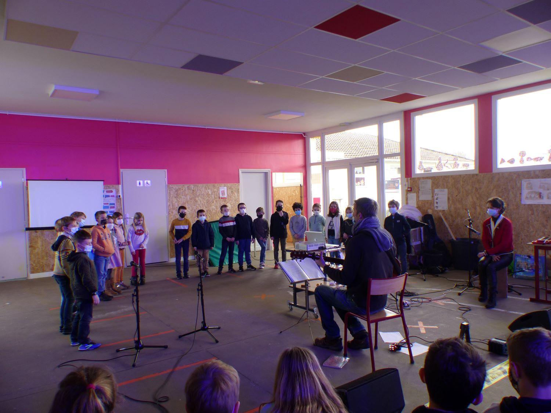 intervention musicale école Pasteur