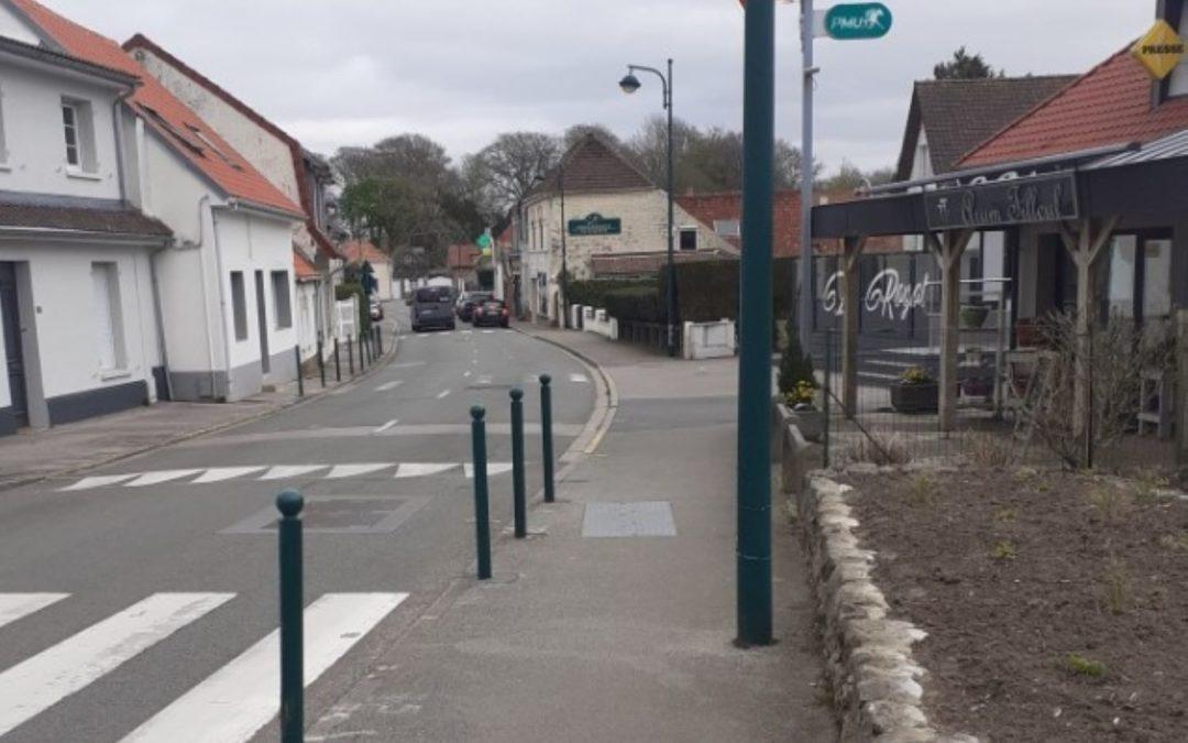 Travaux : rue de la Paix et rue des buissons les 12 et 13 avril