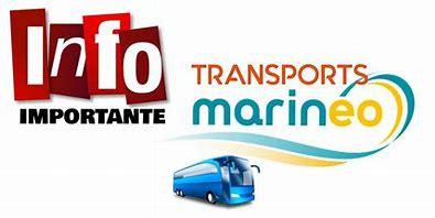 Marinéo- Changement d'horaires Ligne 53 à partir 20/09/21