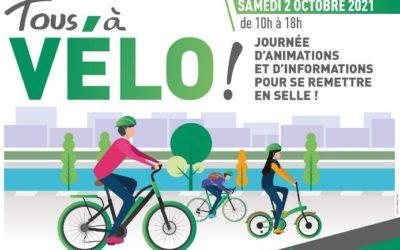 Tous à vélo ! 2 octobre